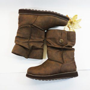 NWT, Sketchers Keepsakes Button Slouch Mid Boots